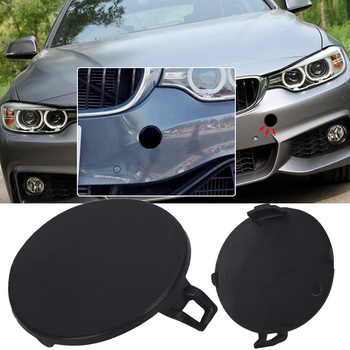 1PC Vehicle Bumper Tow Hook Cap Replacement For BMW E90 328i 335d 335i E9 2009-2011 Automobiles Parts Bumpers image