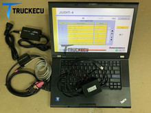 T420 laptop+ Linde Canbox doctor+Judit Incado Box Diagnostic Kit JUDIT 4 Jungheinrich canbox forklift truck diagnostic kit