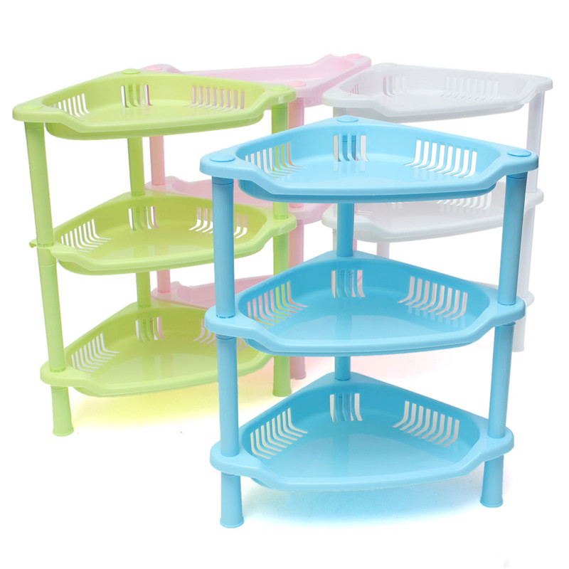 3 Tier Plastic Kitchen Storage Rack Corner Shelf Unit Organizer Cabinet Bathroom Playroom Garage Choice Tool On Aliexpress Alibaba Group