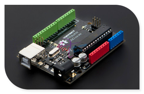 DFRobot Genuine DFRduino UNO R3 / V3.0 Development Board, ATmega328 ATmega16U2 7~12V Completely compatible with Arduino UNO R3 modules genuine for intel galileo gen 2 development board quark soc x1000 400mhz 256m compatible with arduino uno r3 shield