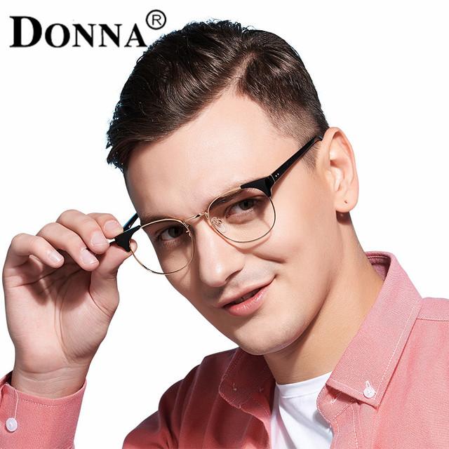 Donna Homens Armações de Óculos de Madeira Praça Limpar Lens Óculos de Leitura Quadro Quadros Ultra-leves DN17