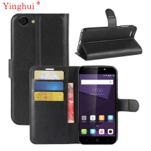 For ZTE Blade A6 Lite Case High Quality Flip Leather Book Style Stand Cover