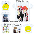Assassination Classroom Teachers Koro-sensei Students Nagisa Shiota T Shirt Cosplay Costumes Men's Japanese Famous Anime T-shirt
