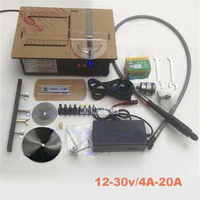 High Profile Micro Table Saw 795 Motor Cutting Machine Mini Table Saw With Speed Control Positive