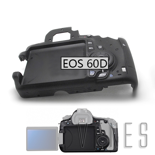 New listing Rear Back Cover Housing Plate with Flex and Key Replacement Part Suit For Canon EOS 60D Digital Camera Repair new top cover small lcd display parameters for canon eos 6d digital camera repair part