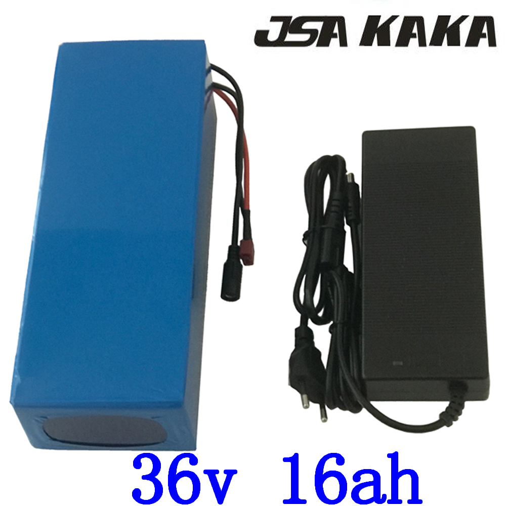 36V Lithium ion battery 36V 15AH electric bicycle battery 36V 16AH 1000W with Built in 30A BMS 42V 2A charger free shipping