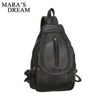 Mara' s Dream 2018 PU Women Leather Travel Backpacks School Bag Student Backpack Ladies Women Shoulder Bags Female Back Pack Bag
