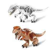 79151 Compatible with Jurassic World Indominus Rex Mighty T Rex Building Blocks Dinosaur Figures Model Bricks Toys