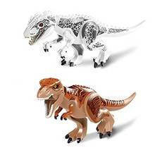 79151 Compatible with Jurassic World Indominus Rex Mighty T Rex Building Blocks Dinosaur Figures Model Bricks Toys цена