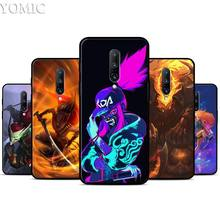 League of Legends Silicone Case for Oneplus 7 7Pro 5T 6 6T Black Soft Case for Oneplus 7 7 Pro TPU Phone Cover