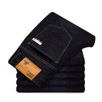 Odinokov Brand 2017 New Autumn Winter Men S Jeans Black High Stretch Denim Brand Men Jeans