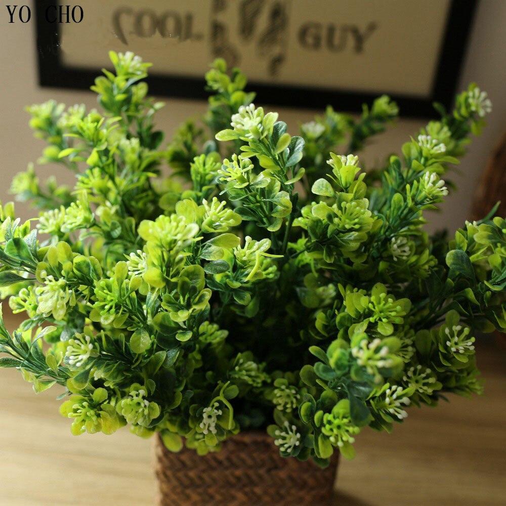 (32 head) Artificial Plant Milan fruit Flowers Plastic Floral Home Wedding Party Decor christmas decoration flower wholesale