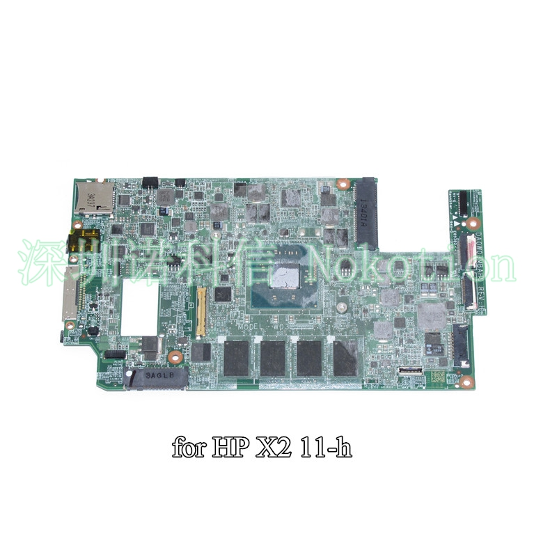 цены NOKOTION 741030-501 741030-001 laptop motherboard For HP Split x2 11-H SR1SF N2920 CPU onboard DA0W03MBAH0
