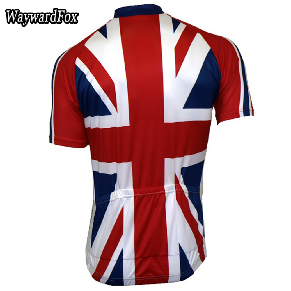 6f9002167 NEW cycling jersey uk Flag National ENGLISH pro team clothing Great Britain  bicycle exercise wear ropa cycling Wear WaywardFox-in Cycling Jerseys from  ...
