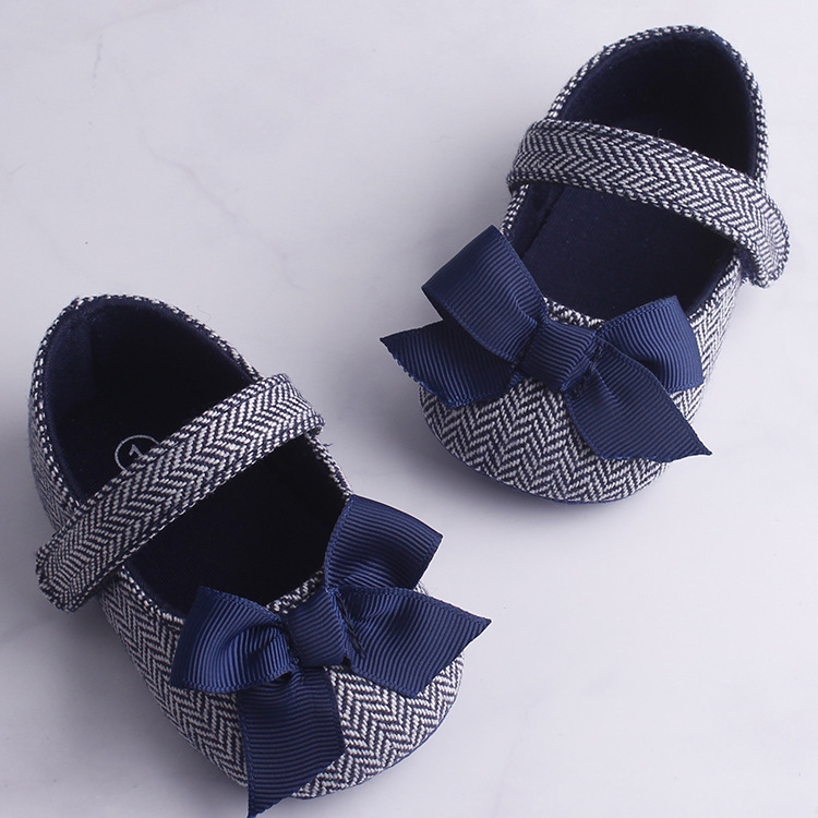 Pudcoco New Brand Hot Toddler Girl Crib Shoes Newborn Baby Bowknot Soft Sole Prewalker Sneakers AU