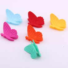 2019  Hair Accessories For Children Plastic Claw Girl Multicolors Charms Hairpins Butterfly 20 PIECES