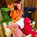 40 см плюшевые игрушки кролика милые панды кошка розовая свинья, собака динозавров куклы мягкие чучела животных плюшевые игрушки для детей подарков кукла дети к