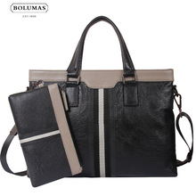 BOLUMAS bag Korean business men bag handbag shoulder bag briefcase single cross section of leisure