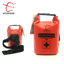 HITORHIKE Waterproof 2L First Aid Kit Bag Emergency Kits Empty Travel Dry Bag Rafting Camping Kayaking Portable Medical Bag