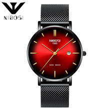 NIBOSI Quartz Watch Women's Watches Stainless Steel For women Waterproof Women's Waterproof Watch For Women Relogio Feminino relogio feminino just for us