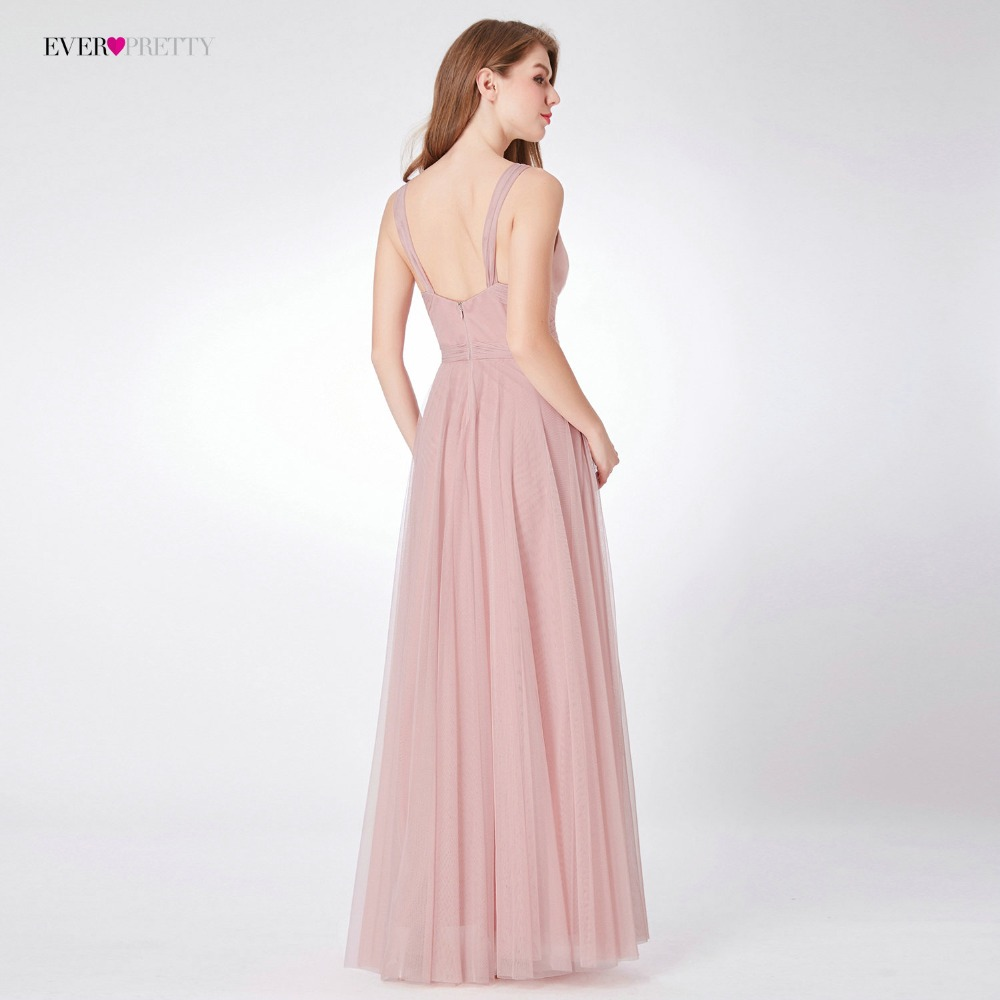 Blush Rosa vestidos de dama de honor Ever Pretty EP07303 cariño una ...