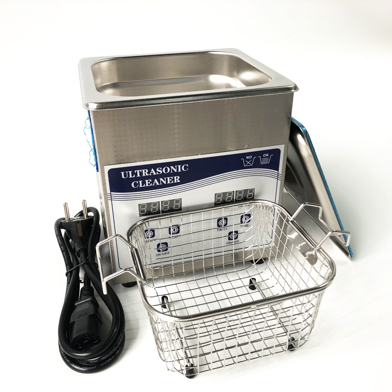 2Liter professional dental ultrasonic cleaner 60W power cleaning with Basket