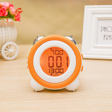 Personalized Electronic Creative Alarm Clock High Quality Silent Student Fashion