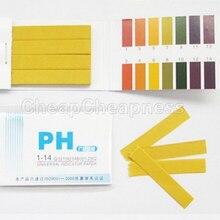 80 полосок PH Тест-полоска лакмусовая бумага полный диапазон щелочной кислоты 1-14 Тест-бумага Лакмус тест химическое учебное оборудование