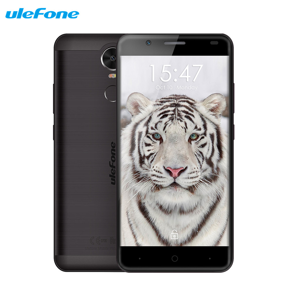 Ulefone Tiger 5 5 inch Smartphone Android 6 0 MT6737 Quad Core Mobile Phone 4200mAh Large
