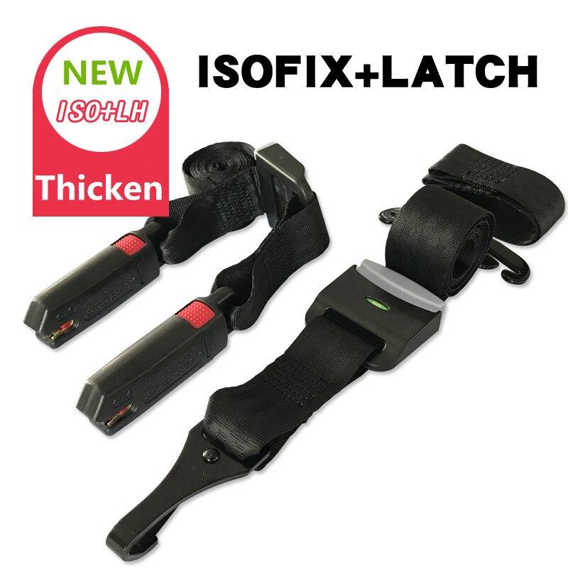 CARMIND ISOFIX loquet de voiture ceintures de sécurité connecteur souple ISOFIX Fix Interface ceintures enfant voiture sécurité siège accessoires offre spéciale