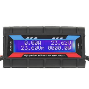 цена на Watt Meter 4.8V~60V 150A High Accuracy Power Watt Meter Voltage Amp Energy Meter RC Power Analyzer Digital LCD