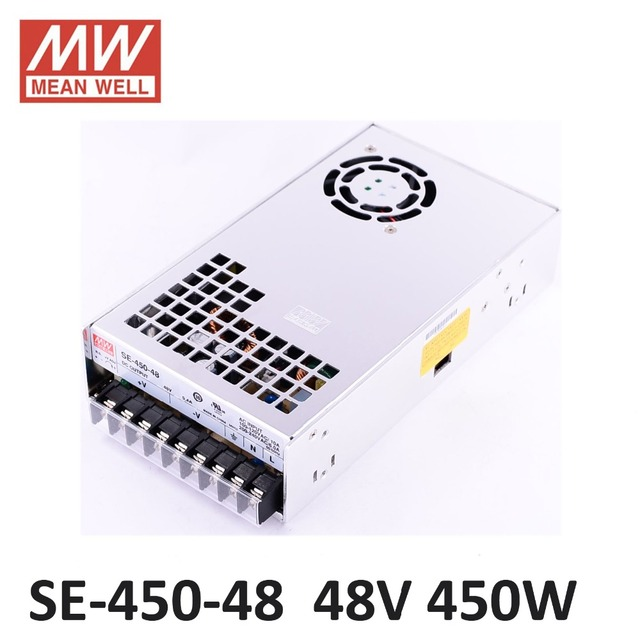 Original Meanwell 48V 9.4A 450W SE 450 48 Switching Power Supply AC ...