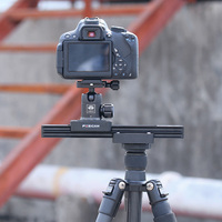 Portable Mini Camera Video Slider Travel Track Dolly Rail Double Distance Track Rail Slider System for iPhone XS XSMax DSLRs