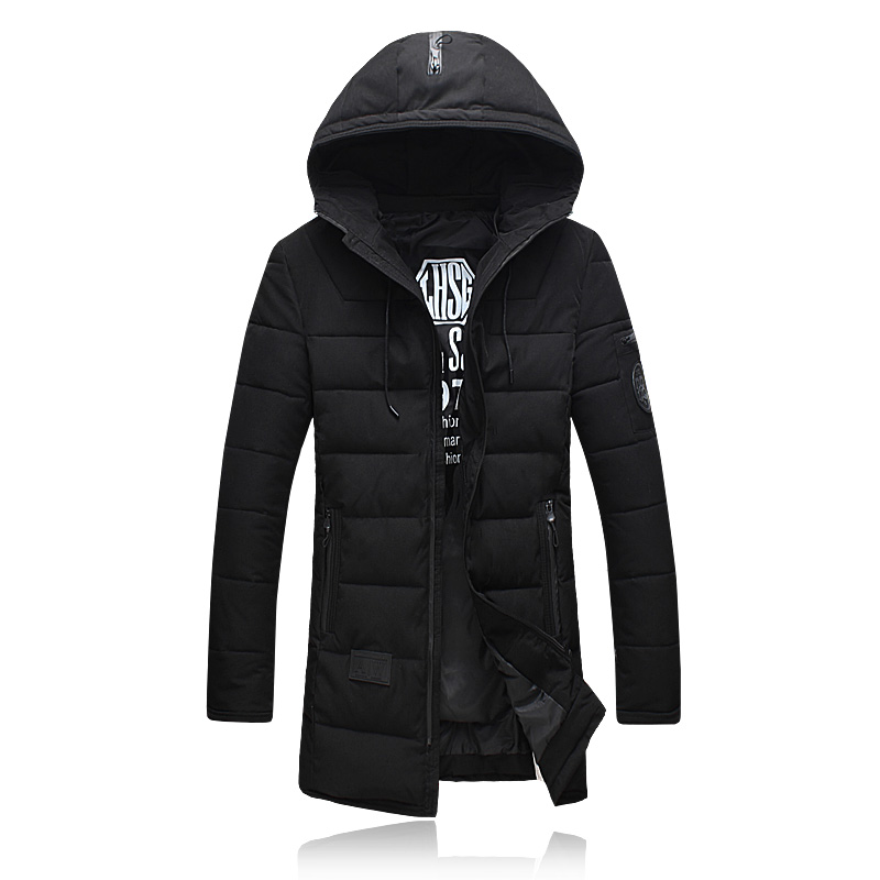 2016 new style of winter Men s Parkas fashion printed cotton quilted jacket men thick winter