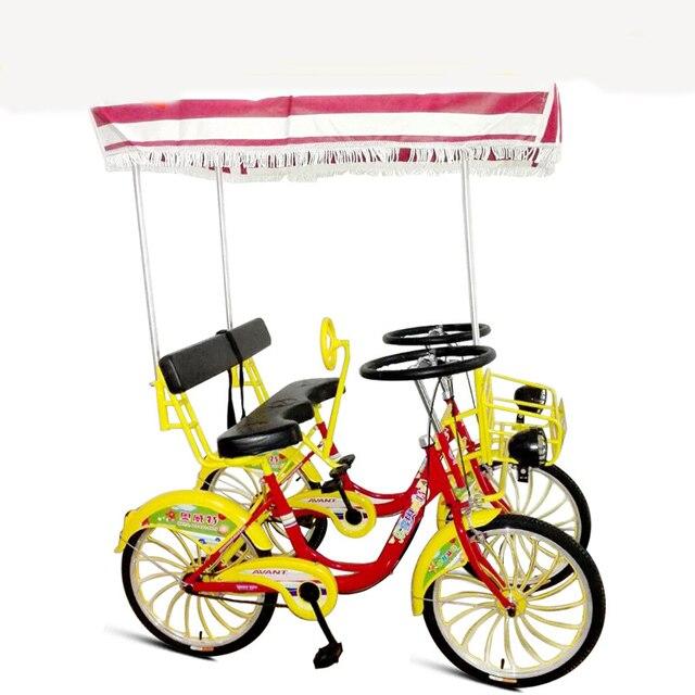 Us 155666 22 Pollice Turistico Bike Bicicletta Tandem Doppia Fila Insieme A Quattro Sedile Auto Turismo In 22 Pollice Turistico Bike Bicicletta