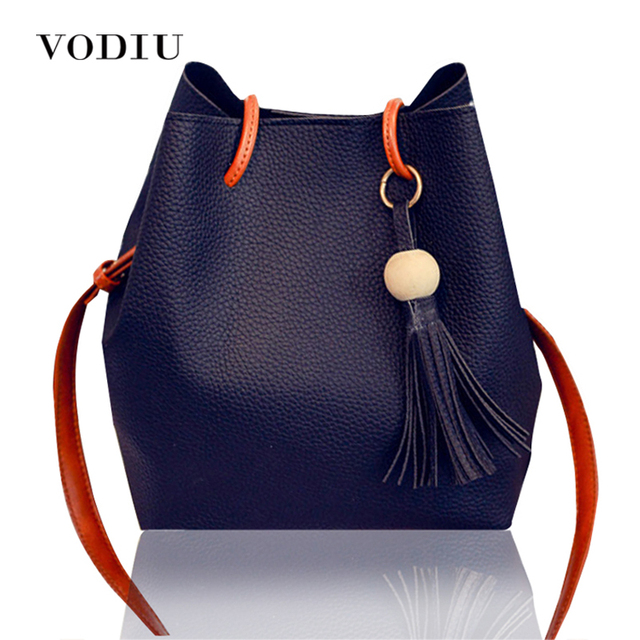 Women Bags Handbag Tote Crossbody Over Shoulder Sling Leather Set Bag Big  Bucket Fringe Tassel Fashion Female Designer Casual 54e5ac8432822