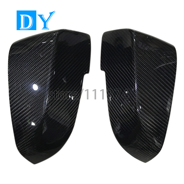 Nulla F30 Carbon Fiber Replacement Rearview Mirrors Door Side Wing Mirror Cover for BMW 1 3 series F30 GT F34 F20 F21 2013-2015