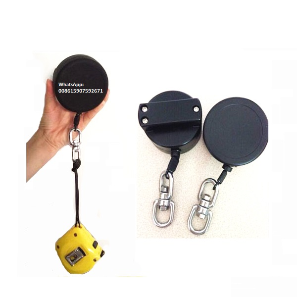 US $170 0 |10 pieces retractable gear tether tool lanyard keep tool safety  fixed on belt, tool lanyard retractor-in Anti-theft Lock from Security &