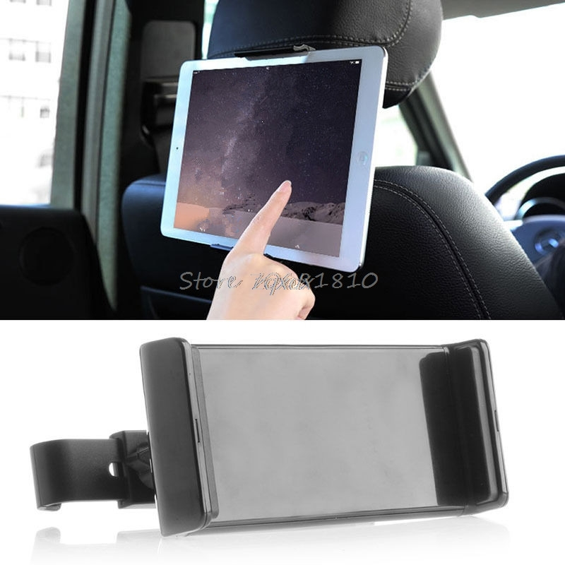 360 Degree Universal 8~10inch Car Back Seat Tablet Car Holder Stand Cradle for ipad 2 3 4 5 6 for Samsung tab 2 3 4 Z07 protective pc back case w 360 degree rotation hand strap holder for ipad 3 4 white
