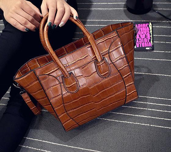 ФОТО JONON Famous brand women bag handbags high quality ladies trendy tote bag luxury leather handbags large shoulder bags designer
