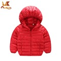 Monkids Candy Color Down Jacket for Girls Winter Coat Children's Clothing Warm Coat&Jackets For Children Windbreaker Parkas
