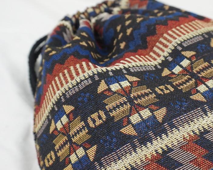 HTB1 TLYdv5TBuNjSspcq6znGFXat LilyHood Women Fabric Backpack Female Gypsy Bohemian Boho Chic Aztec Ibiza Tribal Ethnic Ibiza Brown Drawstring Rucksack Bags