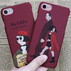 Anti-Knock 360 Full Cover Protection PC Cases for iPhone 7 8 Plus Luxury Plastic Case for iPhone 6 6s Case Leon Mathilda Movie