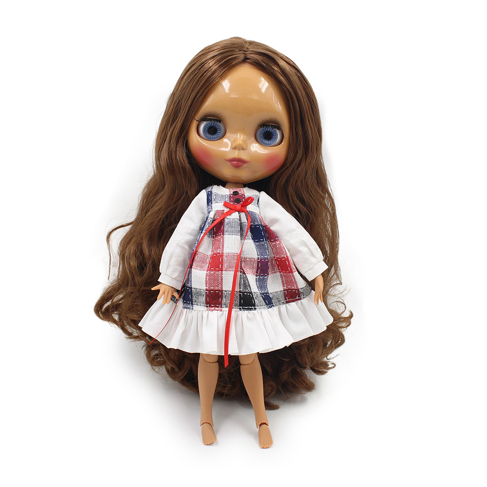 Blyth-doll-joint-body-Reborn-Dolls-Anime-DIY-Make-up-Dress-up-30cm-16-factory-nude-Toys-fashion-ICY-BJD-Doll-3