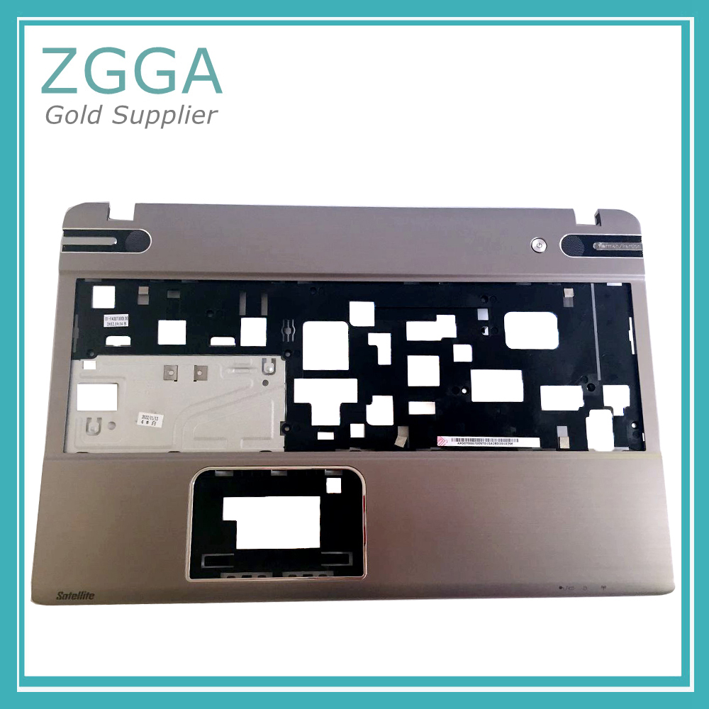 NEW Palmrest Bottom Cover Genuine FOR TOSHIBA Satellite P850 P855 Laptop Base Upper Case Keyboard Bezel Shell Silver PCN2120250H original new 15 6laptop lower case for hp omen 15 5000 series bottom cover base shell 788598 001 empty palmrest 788603 001