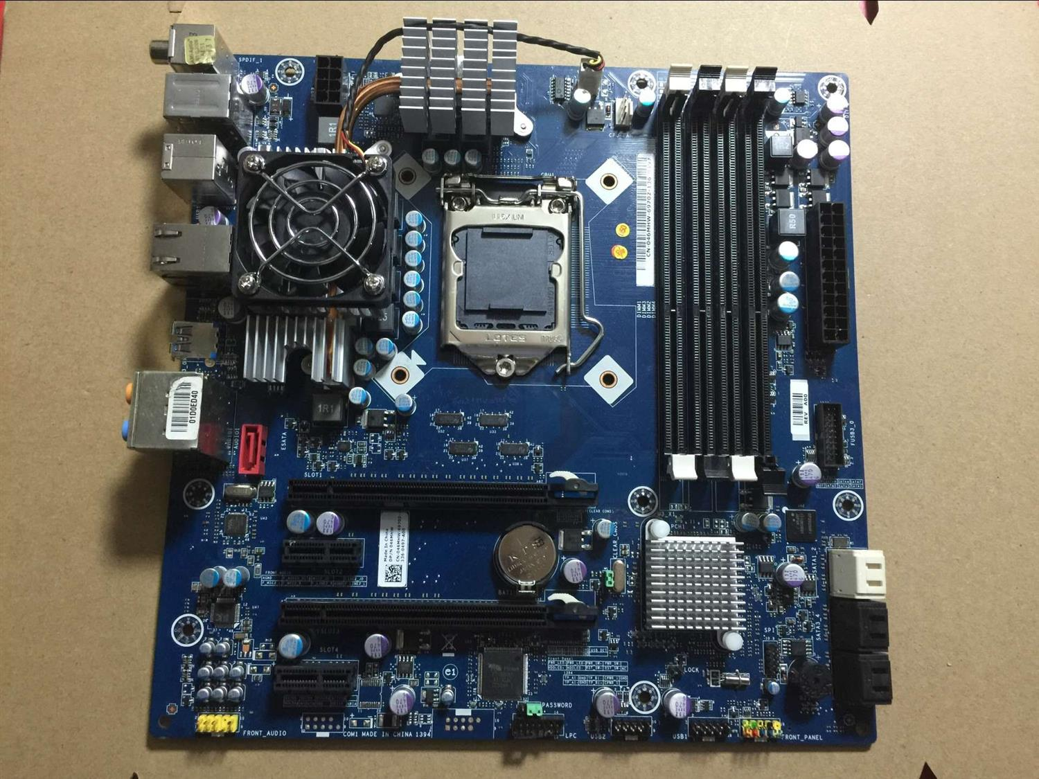 Original disassemble,for DELL Alienware Aurora R3 LGA1155 P67 Desktop Motherboard asus p5kpl se desktop motherboard p31 socket lga for 775 core pentium celeron ddr2 4g atx uefi bios original used mainboard