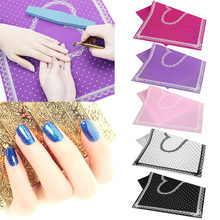 Nail Art Table Mat Cute Point Lace Silicone Foldable Washable Manicure Nail Tools H7JP(China)