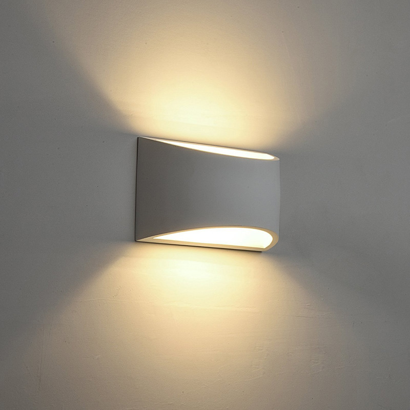 Wall <font><b>Light</b></font> LED Up and Down Indoor Lamp Uplighter Downlighter Warm White