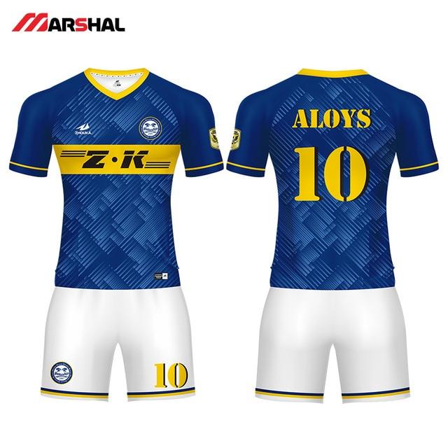 5d6f4d26404 Personalized design football shirts maker custom team j practice jerseys  soccer uniforms make on line
