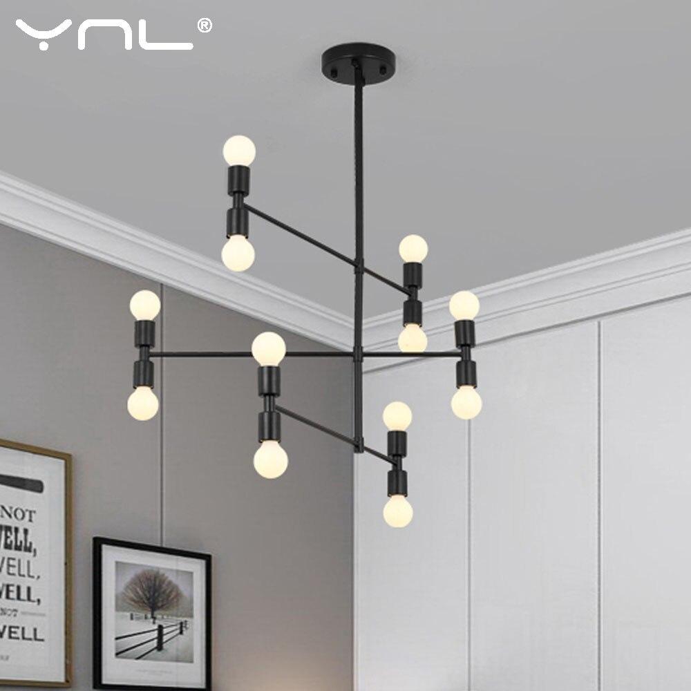 Modern pendant Light Lamp LED Pendant Fixtures E27 LED Vertigo Luminaria Bulb Hanging Lamps For Living Room Dining Bedroom